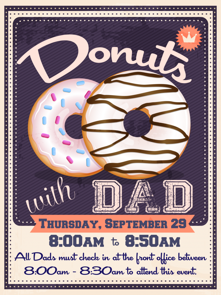 donuts with dad 2016